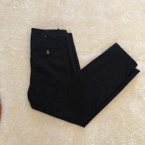 Lord & Taylor Petite Black Kelly Ankle Pant